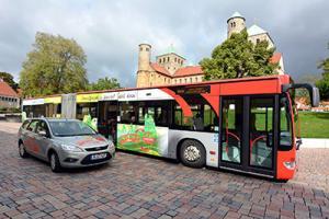 Quelle: Stadtverkehr Hildesheim/Agentur von b.