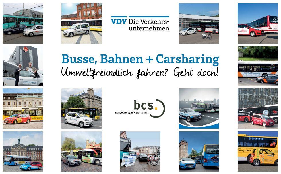 Marketingaktion - Busse, Bahnen und CarSharing (Bild: bcs)